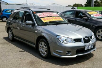 2007 Subaru Impreza G3 MY08 R AWD Silver 4 Speed Sports Automatic Hatchback Ringwood East Maroondah Area Preview