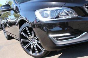 2016 Volvo V60 F MY17 D4 Luxury Onyx Black 8 Speed Automatic Geartronic Wagon
