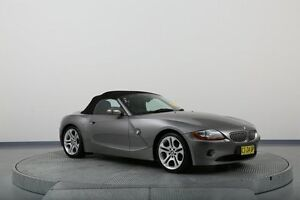 2003 BMW Z4 E85 Silver 5 Speed Manual Roadster Old Guildford Fairfield Area Preview