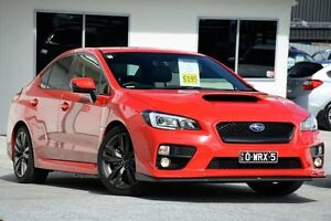 2015 Subaru WRX V1 MY16 Premium Lineartronic AWD Red/Black 8 Speed Constant Variable Sedan Moorooka Brisbane South West Preview