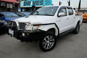 2005 Toyota Hilux KUN26R MY05 SR White 5 Speed Manual Utility Dandenong Greater Dandenong Preview