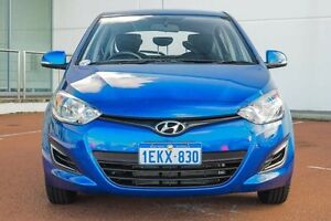 2014 Hyundai i20 PB MY14 Active Blue 6 Speed Manual Hatchback Wangara Wanneroo Area Preview