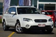 2004 Subaru Outback B4A MY05 R AWD Premium Pack White 5 Speed Sports Automatic Wagon Wavell Heights Brisbane North East Preview