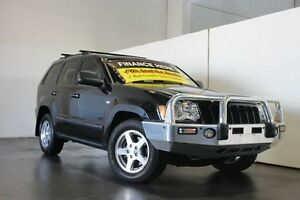 2010 Jeep Grand Cherokee WH MY08 Laredo (4x4) Black 5 Speed Automatic Wagon Underwood Logan Area Preview