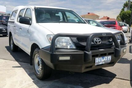 2010 Toyota Hilux TGN16R MY10 Workmate White 5 Speed Manual Utility