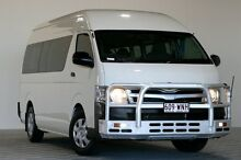 2013 Toyota Hiace KDH223R MY12 Upgrade Commuter White 4 Speed Automatic Bus Coopers Plains Brisbane South West Preview