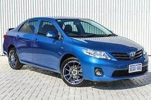 2012 Toyota Corolla ZRE152R MY11 Ascent Sport Blue 4 Speed Automatic Sedan Embleton Bayswater Area Preview