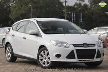 2012 Ford Focus LW Ambiente PwrShift Red 6 Speed Sports Automatic Dual Clutch Hatchback Wilson Canning Area Preview