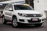 2015 Volkswagen Tiguan 5N MY15 118TSI DSG 2WD White 6 Speed Sports Automatic Dual Clutch Wagon Mount Gravatt Brisbane South East Preview