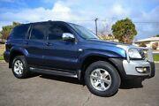 2005 Toyota Landcruiser Prado GRJ120R GXL Blue 5 Speed Automatic Wagon Blair Athol Port Adelaide Area Preview