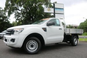 2013 Ford Ranger PX XL 4x2 White 6 Speed Manual Utility Earlville Cairns City Preview