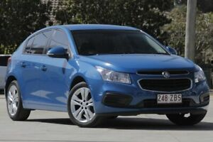 2015 Holden Cruze JH Series II MY15 Equipe Blue 5 Speed Manual Hatchback East Toowoomba Toowoomba City Preview