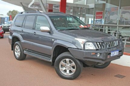 2006 Toyota Landcruiser Prado KZJ120R VX Charcoal Grey 4 Speed Automatic Wagon