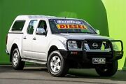 2008 Nissan Navara D40 ST-X Silver 6 Speed Manual Utility Ringwood East Maroondah Area Preview