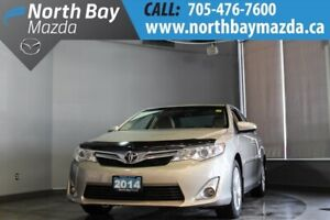 2014 Toyota Camry XLE with Ivory Leather, Sunroof, Heated Seats