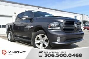 2014 Ram 1500 Sport | Heated/Cooled Leather Seats | Remote Start