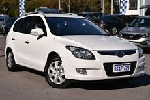 2011 Hyundai i30 FD MY11 SX cw Wagon White 4 Speed Automatic Wagon Myaree Melville Area Preview