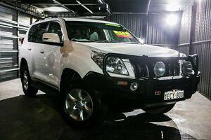 2013 Toyota Landcruiser Prado KDJ150R GXL White 5 Speed Sports Automatic Wagon Wangara Wanneroo Area Preview