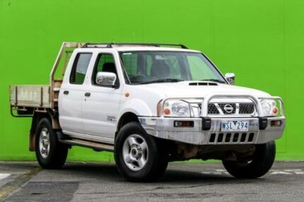 2008 Nissan Navara ST-R White Manual Utility Ringwood East Maroondah Area Preview