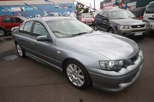 2005 Ford Falcon BA Mk II XR6 Silver 4 Speed Sports Automatic Sedan Kingsville Maribyrnong Area Preview