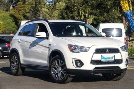 2016 Mitsubishi ASX XB LS White Constant Variable Wagon Ringwood East Maroondah Area Preview