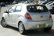 2012 Hyundai i20 PB MY12 Active Silver 4 Speed Automatic Hatchback Pennant Hills Hornsby Area Preview