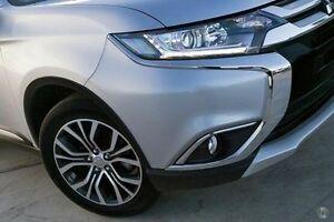 2015 Mitsubishi Outlander Silver Constant Variable Wagon Nunawading Whitehorse Area Preview