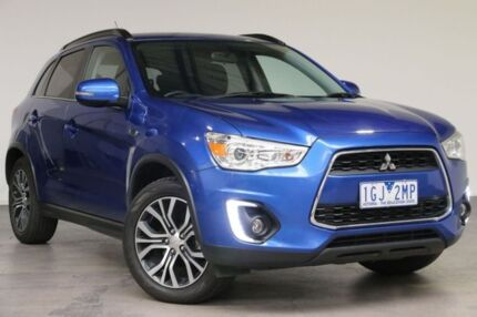 2015 Mitsubishi ASX XB MY15 LS 2WD Blue 6 Speed Constant Variable Wagon Southbank Melbourne City Preview