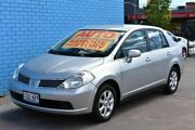 2007 Nissan Tiida C11 MY07 ST-L Silver 4 Speed Automatic Sedan Enfield Port Adelaide Area Preview