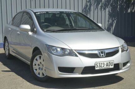 2009 Honda Civic 8th Gen MY09 VTi Grey 5 Speed Automatic Sedan Blair Athol Port Adelaide Area Preview