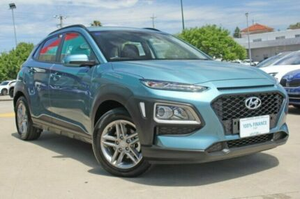 2018 Hyundai Kona OS MY18 Active 2WD Blue 6 Speed Sports Automatic Wagon Victoria Park Victoria Park Area Preview