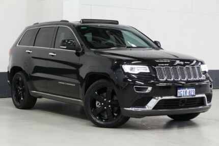 2015 Jeep Grand Cherokee WK MY15 Summit (4x4) Black 8 Speed Automatic Wagon