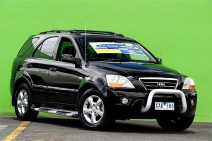 2009 Kia Sorento BL MY08 EX-L Black 5 Speed Sports Automatic Wagon Ringwood East Maroondah Area Preview