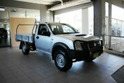 2007 Holden Rodeo RA MY06 Upgrade DX (4x4) Silver 5 Speed Manual Cab Chassis Thornleigh Hornsby Area Preview