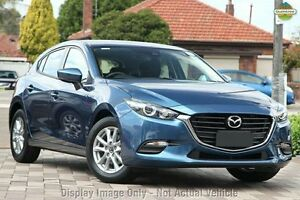2016 Mazda 3 BN MY17 Neo Deep Crystal Blue 6 Speed Automatic Hatchback Liverpool Liverpool Area Preview