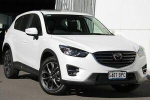2016 Mazda CX-5 KE1022 Akera SKYACTIV-Drive i-ACTIV AWD Crystal White 6 Speed Sports Automatic Wagon West Hindmarsh Charles Sturt Area Preview