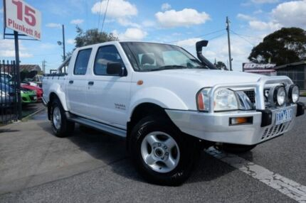 2002 Nissan Navara D22 MY2002 ST-R White 5 Speed Manual Utility Dandenong Greater Dandenong Preview