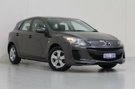2013 Mazda 3 BL MY13 Neo Grey 5 Speed Automatic Hatchback Bentley Canning Area Preview
