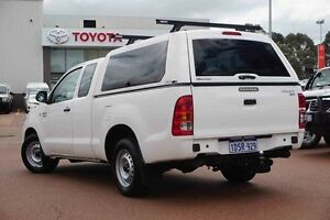 2011 Toyota Hilux GGN15R MY10 SR Xtra Cab White 5 Speed Automatic Utility Westminster Stirling Area Preview