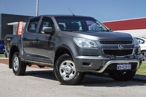 2013 Holden Colorado RG MY13 LX Crew Cab Grey 5 Speed Manual Utility East Rockingham Rockingham Area Preview