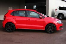 2013 Volkswagen Polo 6R MY13.5 GTI DSG Flash Red 7 Speed Sports Automatic Dual Clutch Hatchback Northbridge Perth City Preview