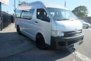 2006 Toyota Hiace KDH223R Commuter High Roof Super LWB Silver 4 Speed Automatic Bus Dandenong Greater Dandenong Preview