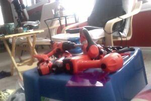 Toys 1 year to 7 like new also Dressup ninja/scoobie/police/firF