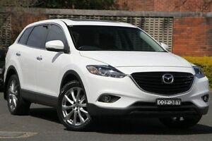 2013 Mazda CX-9 MY13 Luxury (FWD) White 6 Speed Auto Activematic Wagon Zetland Inner Sydney Preview