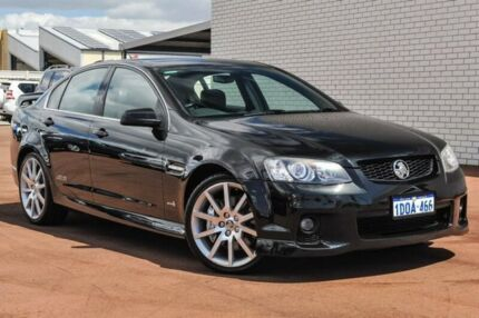 2010 Holden Commodore VE II SS V Redline Black 6 Speed Manual Sedan Bayswater Bayswater Area Preview
