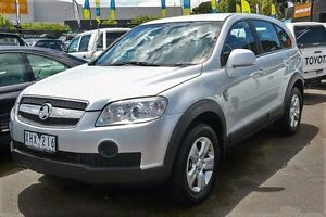 2009 Holden Captiva CG MY09.5 SX AWD Silver 5 Speed Sports Automatic Wagon Ringwood East Maroondah Area Preview