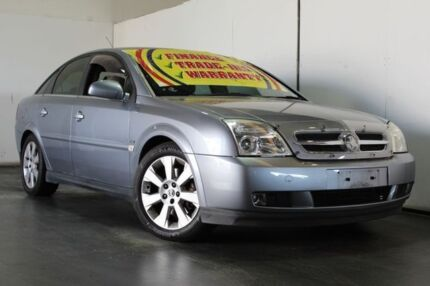 2004 Holden Vectra ZC MY04 CDX Blue 5 Speed Automatic Hatchback