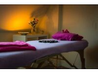 Professional massage therapist, offering, sports, deep tissue, hot stone and reflexology