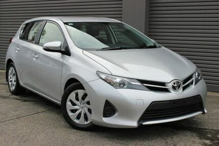2013 Toyota Corolla ZRE182R Ascent S-CVT Silver Pearl 7 Speed Constant Variable Hatchback South Melbourne Port Phillip Preview