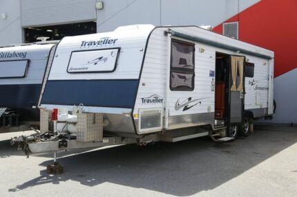 2010 Traveller Sensation Caravan